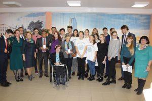 Студенты курсов английского языка на конференции в ЮНИСЕФ